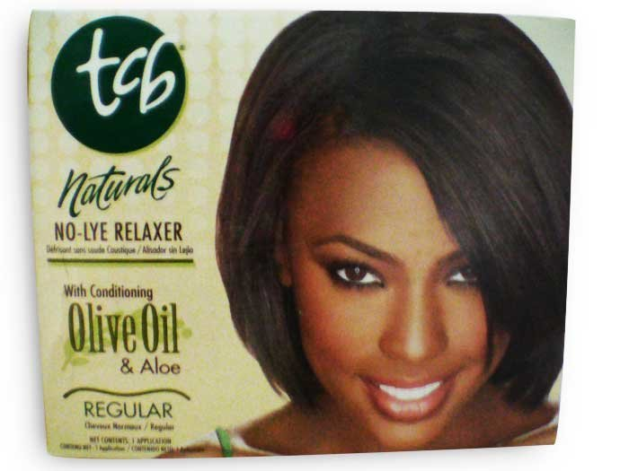 TCB No-lye Relaxer Kit regular