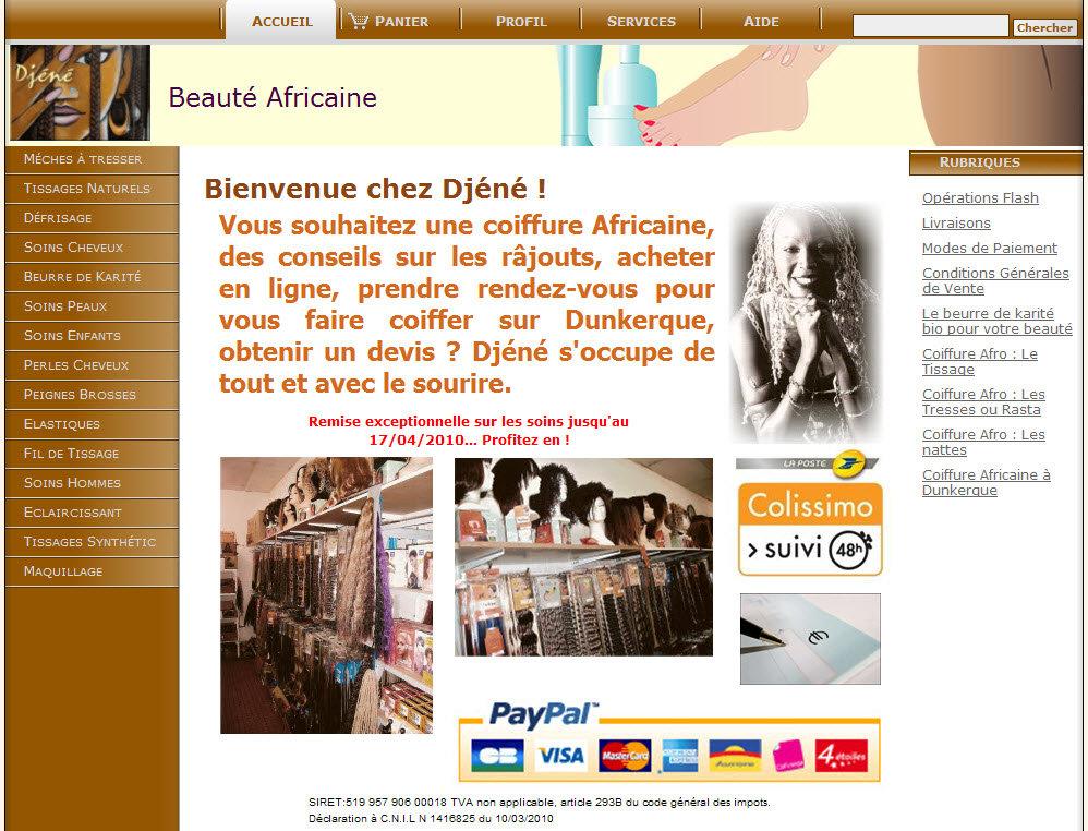 Djéné : Coiffures Africaines à Dunkerque