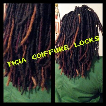 ticia locks afro